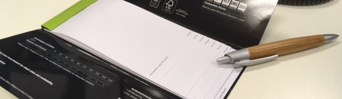 Choosing the right paper weight