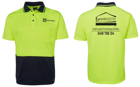 Express Print & Ma high-vis shirt printing