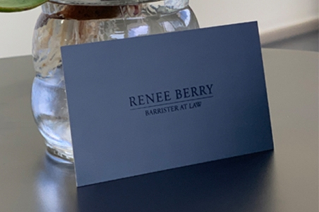 Embellished business card Express Print & Mail
