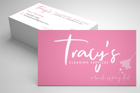 Horizontal business card Express Print & Mail